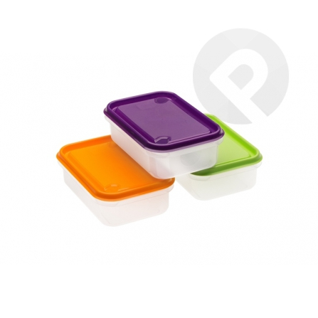 Pojemnik do żywności prostokątny 0,5 L