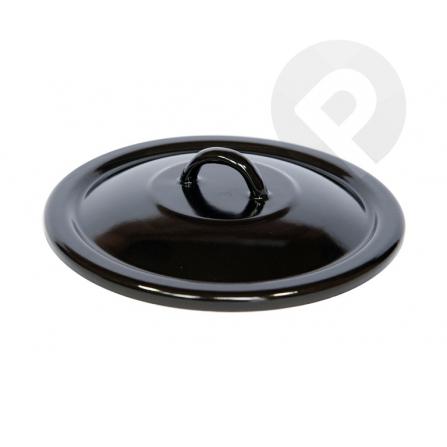 Pokrywa czarna 16 cm