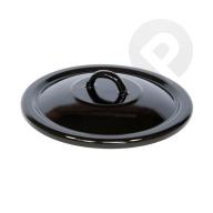 Pokrywa czarna 18 cm