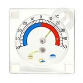 Termometr zewnętrzny z prognozą pogody
