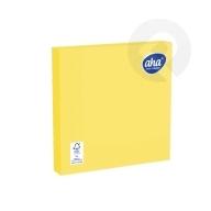 Serwetki papierowe Żółte