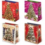 Torebka prezentowa świąteczna ''S16'' 31,5 x 22,5