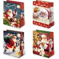 Torebka prezentowa świąteczna ''S17'' 31,5 x 22,5