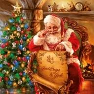 Serwetki papierowe świąteczne AHA