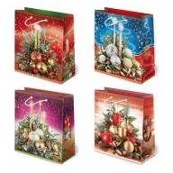 Torebka prezentowa świąteczna ''S6'' 24 x 20