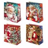 Torebka prezentowa świąteczna ''S10'' 24 x 20