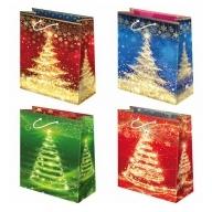 Torebka prezentowa świąteczna ''S24'' 31,5 x 22,5