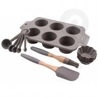Zestaw silikonowy do pieczenia muffinek