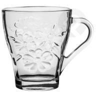 Kubek Daisy szklany kwiaty 250 ml