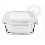 Szklany pojemnik z przykrywką 600 ml
