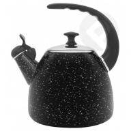 Czajnik emaliowany czarny marmurek 2,8 L