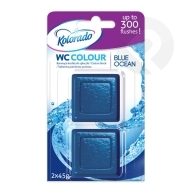 Kostka WC Colour Blue Ocean