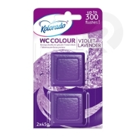 Kostka WC Colour Violet Lavender