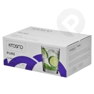 Szklanki do napojów Pure 250 ml 6 sztuk KROSNO