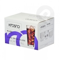 Szklanki do napojów Pure 350 ml 6 sztuk KROSNO