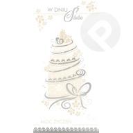Kartka okolicznościowa W Dniu Ślubu