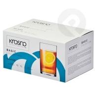 Szklanki do herbaty Basic 250 ml 6 sztuk KROSNO