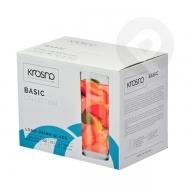 Szklanki long drink Basic 300ml 6 sztuk KROSNO