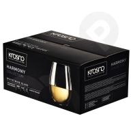 Szklanki do wina białego Harmony 500ml 6 sztuk KROSNO