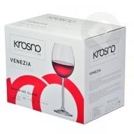 Kieliszki do wina czerwonego Venezia 6sztuk KROSNO