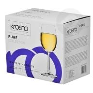 Kieliszki do wina białego Pure 6sztuk KROSNO