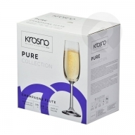 Kieliszki do szampana Pure 170ml 6sztuk KROSNO