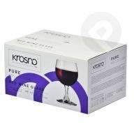 Kieliszki do wina Pure 6 sztuk KROSNO