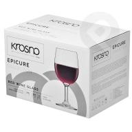 Kieliszki do wina czerwonego Epicure 6sztuk KROSNO
