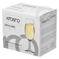 Kieliszki do szampana Epicure 180ml KROSNO