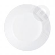 Talerz obiadowy biały Harena 25 cm Luminark
