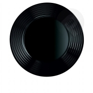 Talerz głęboki czarny Harena 23 cm LUMINARC