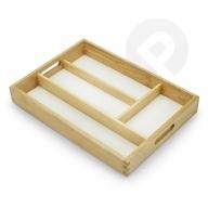 Wkład do szuflady drewniany