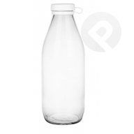 Butelka szklana z korkiem 1 L
