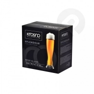 Szklanki do piwa Splendour 6 sztuk KROSNO