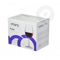 Kieliszki do wina czerwonego Pure 6 sztuk KROSNO