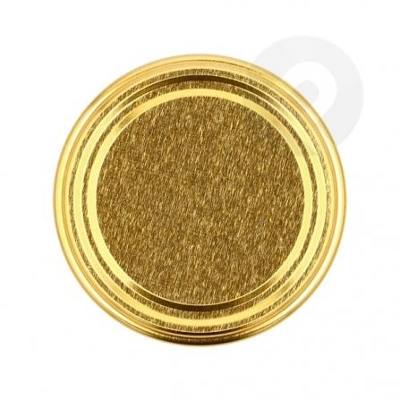 Zakrętka na słoik złota FI 66