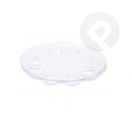 Półmisek na jajka - transparentny