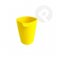 Kubek plastikowy Bailango 0,3l żółty