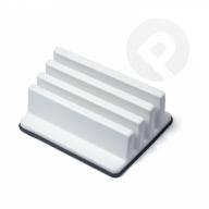 Stojak na deski plastikowe - biały