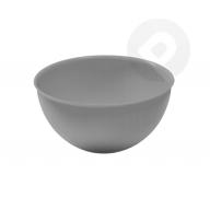 Miska plastikowa bąble biała 0,5 l