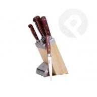 Zestaw noży w bloku 6 elementów