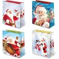 Torebka prezentowa świąteczna ''S20'' 31,5 x 22,5