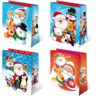 Torebka prezentowa świąteczna ''S29'' 24 x 20