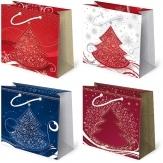 Torebka prezentowa świąteczna ''S34'' 16,5 x 15,5